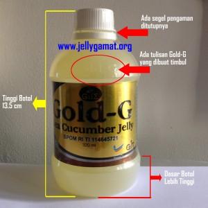Jelly Gamat Gold-G Kemasan Baru